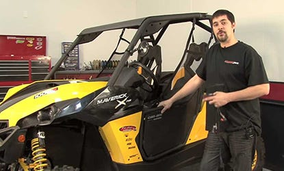 2013 Bombardier CanAm Maverick PCV Install Video