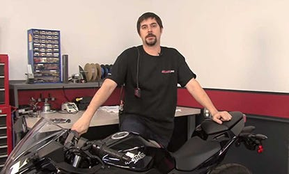 2013 Kawasaki Ninja 300 PCV Install Video
