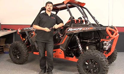 2014 Polaris RZR XP1000 PCV Install Video