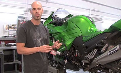 Power Commander 5 Video Install for 2012-13 ZX-14R Models