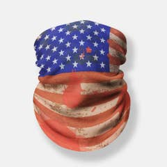 Scarf Tube Vintage USA Flag